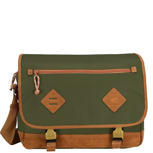 camel active Houston Messenger 36 cm Laptopfach