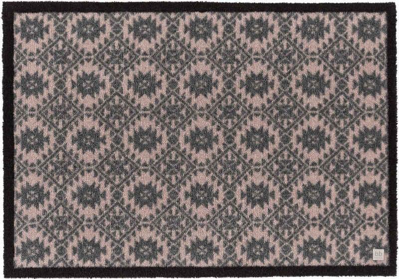 Fußmatte »Spirit BB«, Barbara Becker, rechteckig, Höhe 10 mm, Schmutzfangmatte, In- und Outdoor geeignet, waschbar