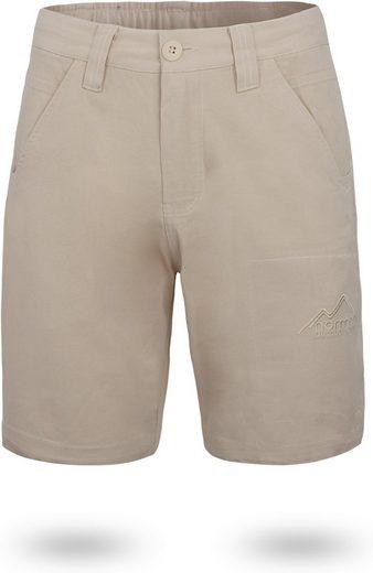 normani Bermudas »Herren Shorts Gobi« Vintage Shorts kurze Chino Sommershort mit invisible Zippertasche aus 100% Bio-Baumwolle
