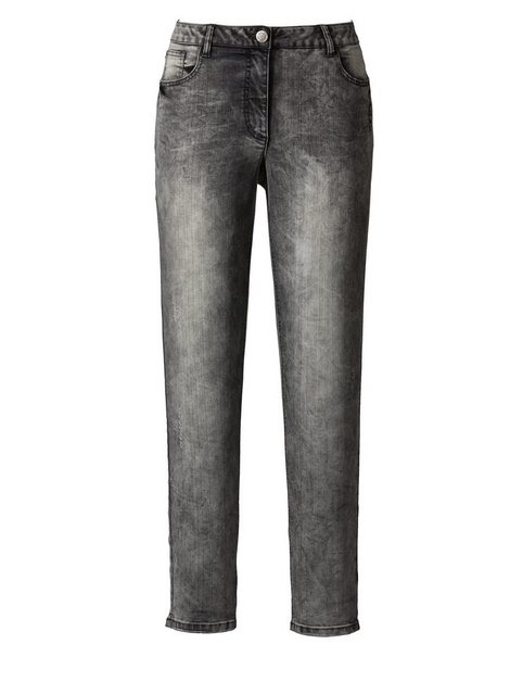 Hosen - Angel of Style by Happy Size Jeans Carla Slim Fit › grau  - Onlineshop OTTO