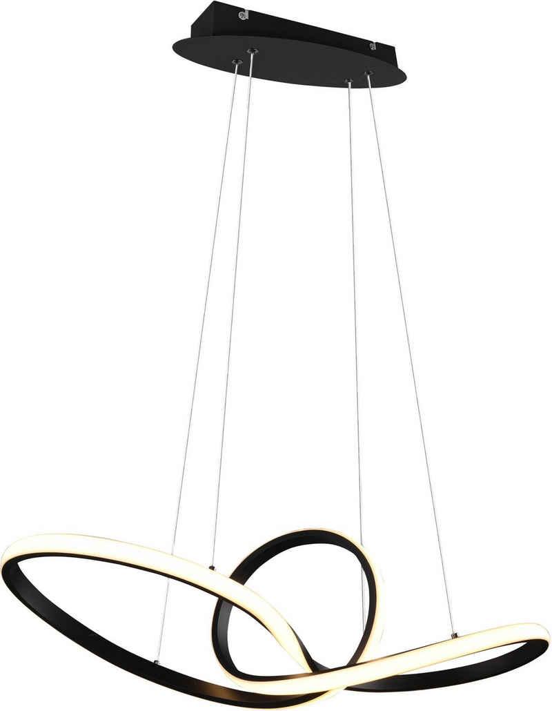 TRIO Leuchten LED Pendelleuchte »SANSA, Hängelampe mit Switch Dimmer«, über Wandschalter dimmbar, 3000K, 3200 Lm, Abhängung 150cm