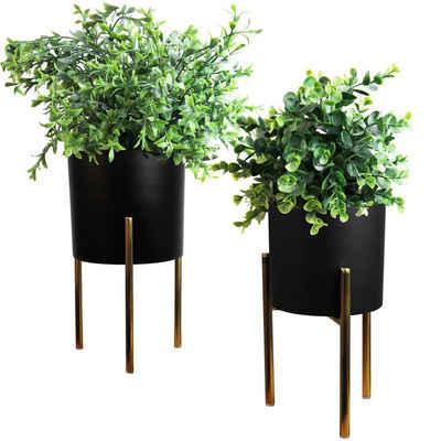 Multistore 2002 Übertopf »2tlg. Blumentopfständer Set H31/36cm«