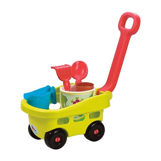 Ecoiffier Gärtner Handwagen mit Eimergarnitur