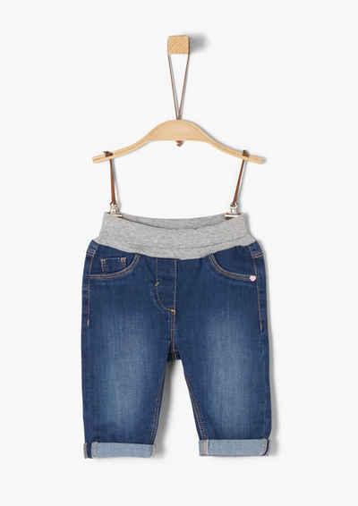 s.Oliver 5-Pocket-Jeans »Jeans mit Umschlagbund«