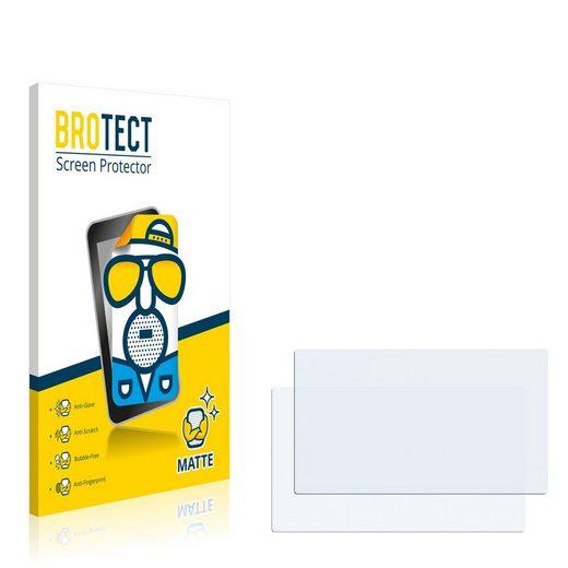 BROTECT Schutzfolie »für TomTom Start XL Europe Traffic«, (2 Stück), Folie Schutzfolie matt entspiegelt