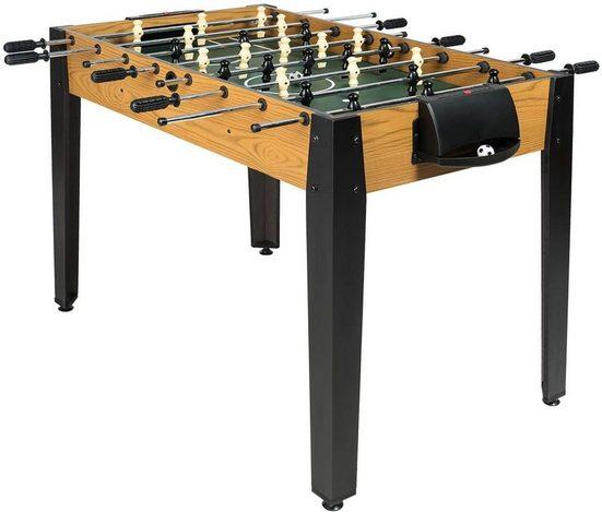 COSTWAY Mini-Tischkicker »Kickertisch Spieltisch«, Tischfußball in Wettbewerbsgröße, inkl. 2 Bällen