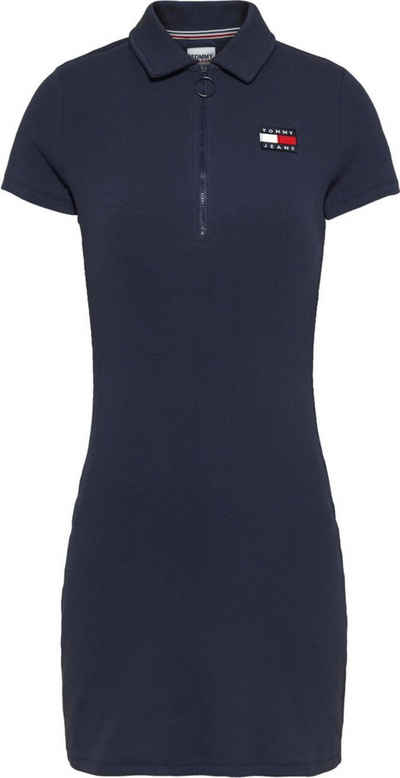 Tommy Jeans Polokleid »TJW Essential Badge Polo Dress« mit Tommy Jeans Logo-Badge