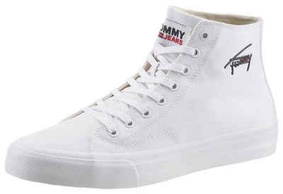 Tommy Jeans »LONG LACE MIDCUT VULC TJM« Sneaker mit seitlichem Logoschriftzug