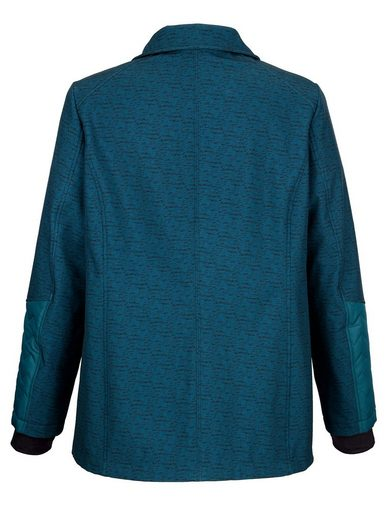 MIAMODA Jacke aus wasserabweisendem & winddichtem Softshellmaterial