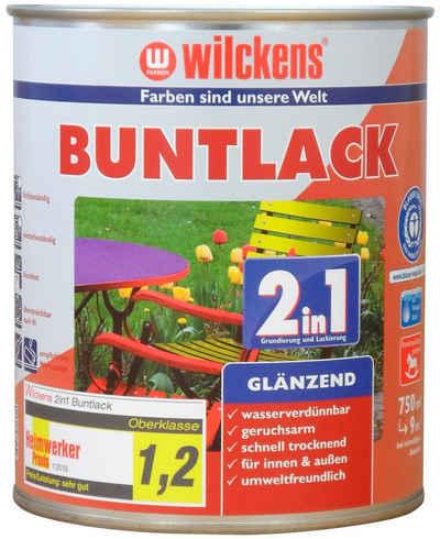 Wilckens Farben Holzlack »2in1 Buntlack glänzend«, umweltfreundlich