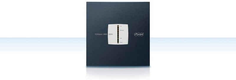 Auerswald »COMpact 3000 ISDN-TK-Anlage« Festnetztelefon (Telefonanlage, Stromsparfunktion Plug&Play, Zugangsgerät, Anrufbeantworter, schwarz)