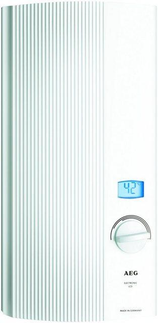 AEG Durchlauferhitzer »DDLE-LCD18/21/24«   Baumarkt > Heizung und Klima > Durchlauferhitzer   AEG