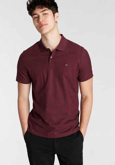 Calvin Klein Poloshirt »REFINED PIQUE LOGO SLIM POLO«