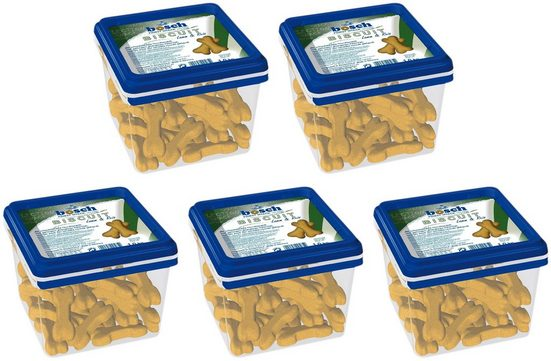 Bosch Petfood Hundesnack »Biscuit Lamm + Reis«, 5 x 1 kg