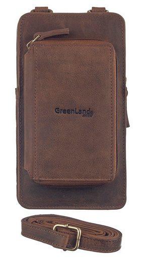GreenLand Nature Mini Bag »Montenegro«, mit aufgesetzter Börse