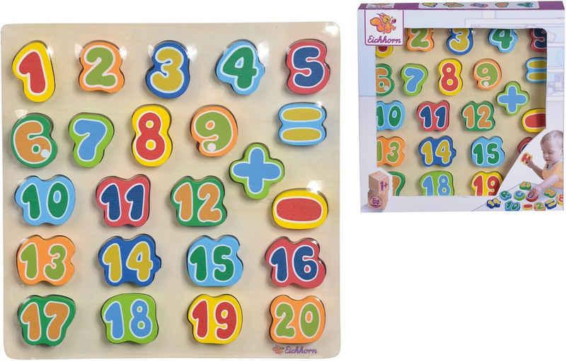 Eichhorn Spielbausteine »Zahlen«, (23 St)