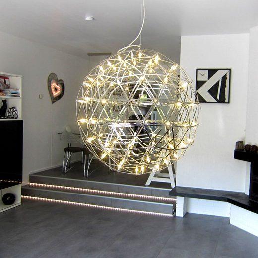 s.LUCE Deckenleuchte »Atom 70 HL LED Metallkugel«