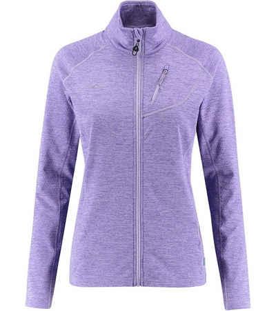 Kaikkialla Outdoorjacke »KAIKKIALLA Tuuli Fleece-Jacke elastische Damen Wander-Jacke mit Waffelstruktur Trekking-Jacke Violett«