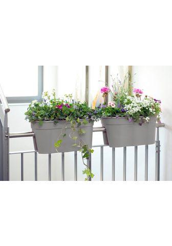 KHW Balkonkasten »Flowerclip XL« (Set 2 vi...