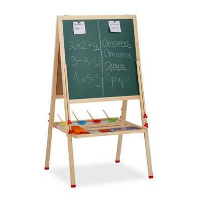 relaxdays Standtafel »Standtafel Kinder mit Whiteboard«