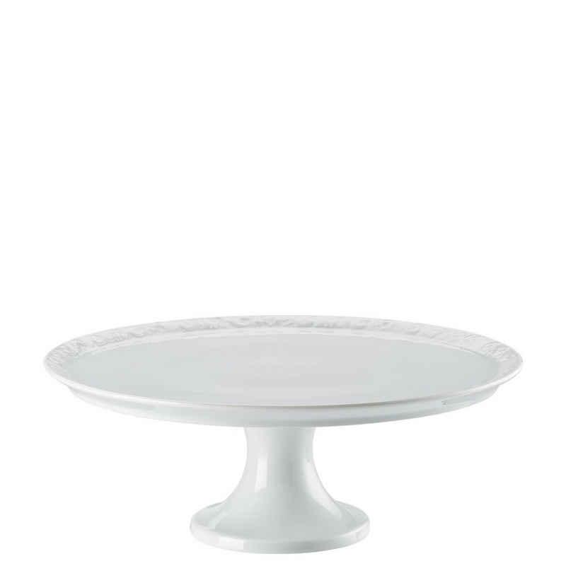 Rosenthal Tortenplatte »Maria Weiß Tortenplatte auf Fuß 31,5 cm«, Porzellan