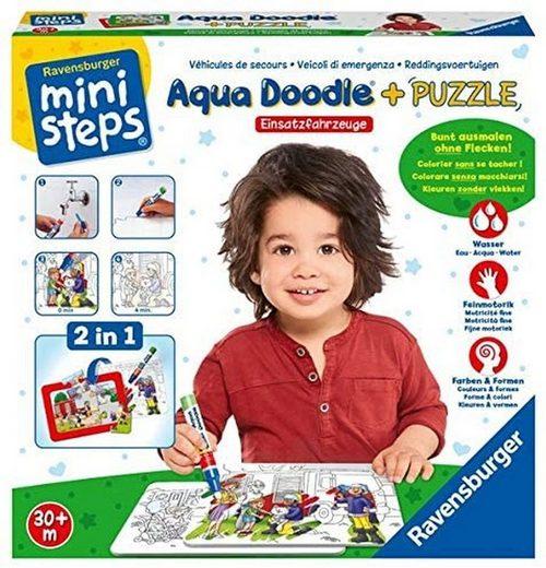 Ravensburger Puzzle »Ravensburger ministeps 04557 - Aqua Doodle® Puzzle«, Puzzleteile