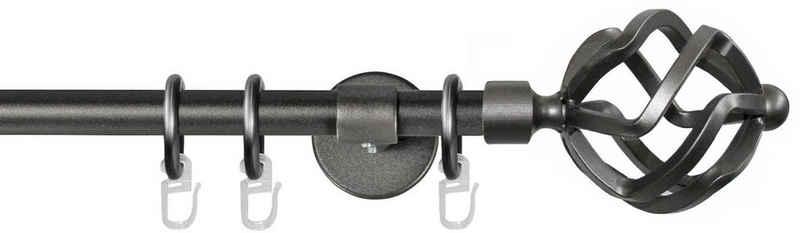 Gardinenstange »Rustika Korb«, GARESA, Ø 16 mm, 1-läufig, Wunschmaßlänge