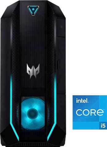 Acer Predator Orion 3000 (PO3-630) Gaming-PC (Intel® Core i5 11400F, GeForce GTX 1660 Super, 16 GB RAM, 1000 GB HDD, 256 GB SSD)