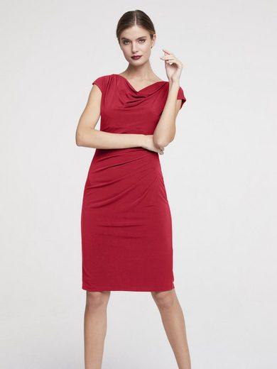 heine TIMELESS Jerseykleid mit Faltendetails