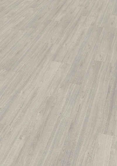 EGGER Laminat »Charlotte Eiche hellgrau«, 7mm, 2,494m², authentische Holzoptik, universell einsetzbar