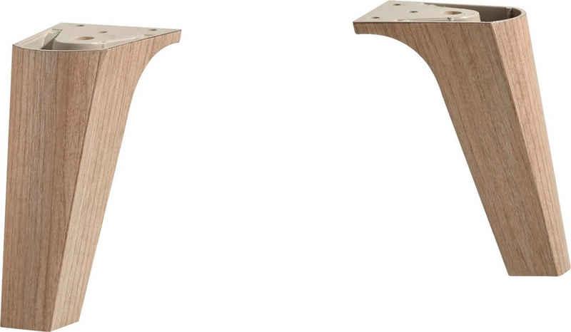 PELIPAL Möbelfuß »Fuß-Set«, (2-St)