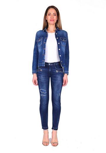 Le Temps Des Cerises Bequeme Jeans  POWERC  in tollem Design