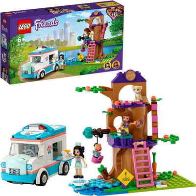 LEGO® Konstruktionsspielsteine »Tierrettungswagen (41445), LEGO® Friends«, (304 St), Made in Europe