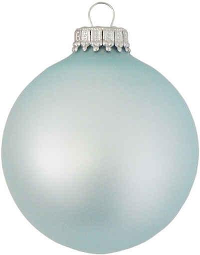 Krebs Glas Lauscha Weihnachtsbaumkugel »CBK70075« (8 Stück)