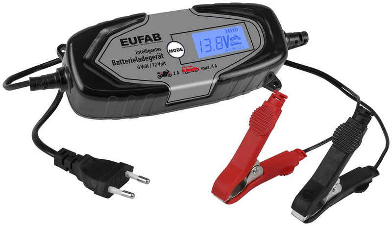 EUFAB »EUFAB 16647« Autobatterie-Ladegerät (4000 mA)