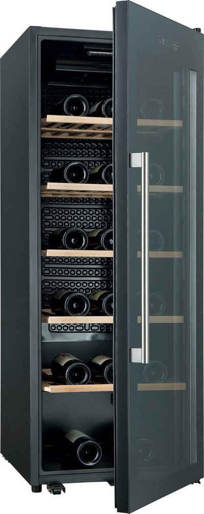 Hanseatic Weinkühlschrank HWC86GCBA, für 86 Standardflaschen á 0,75l