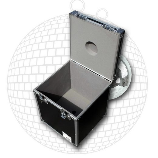 SATISFIRE Discolicht »Flightcase für 40cm Spiegelkugel - Transportkiste Discokugel Sicherer Transport und Lagerung SATISFIRE®«