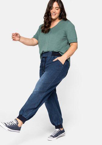 Sheego Laisvo stiliaus džinsai iš Džinsai su ...