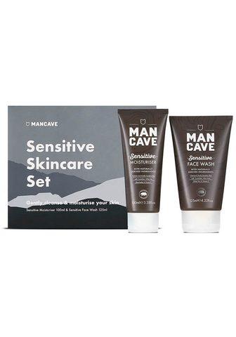 MAN CAVE Gesichtspflege-Set »Sensitive Skincare...
