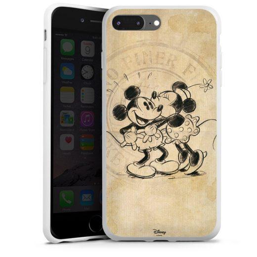 DeinDesign Handyhülle »Minnie&Mickey« Apple iPhone 7 Plus, Hülle Mickey Mouse Offizielles Lizenzprodukt Minnie Mouse