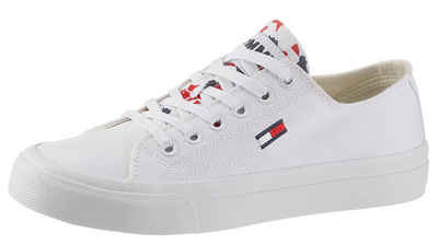 Tommy Jeans »TOMMY JEANS LOWCUT VULC« Plateausneaker mit Muser auf der Zunge