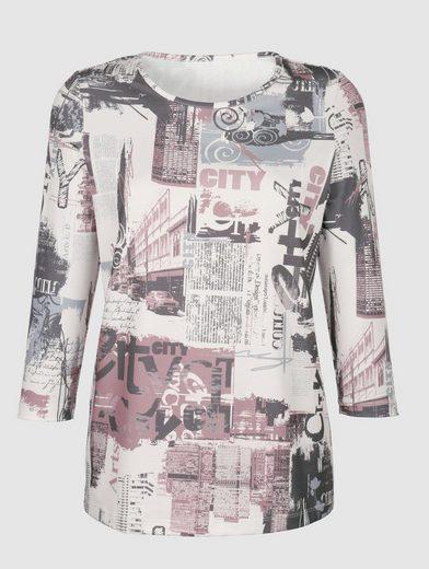 Dress In Shirt mit Druckmotiv