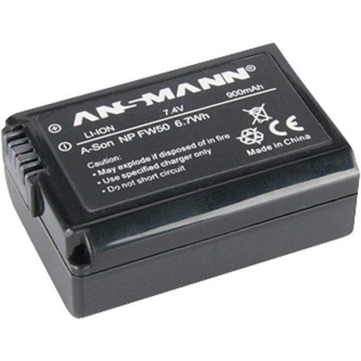 ANSMANN® »A-Son NP FW50, entspricht Sony NP FW50« Kamera-Akku