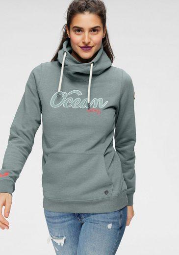 Ocean Sportswear Kapuzensweatshirt mit Kapuze in Wickeloptik