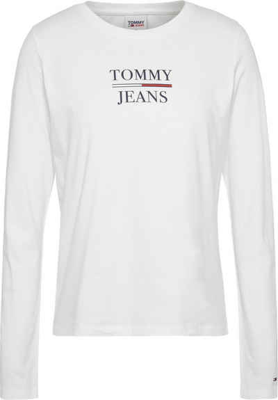 Tommy Jeans Langarmshirt »TJW Slim Essential Tommy Tee LS« mit Tommy Jeans Logo-Schriftzug