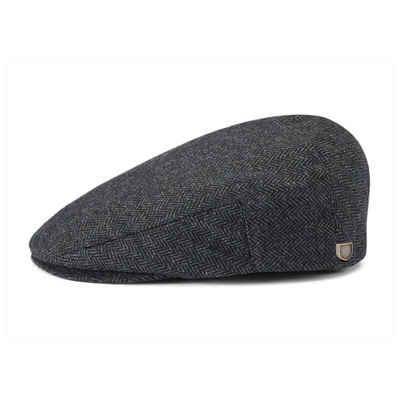 Brixton Schiebermütze »Hooligan Snap Cap - grey/black«