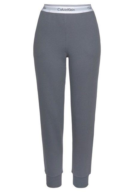 Hosen - Calvin Klein Relaxhose mit Wäschebund mit eingewebtem Logo ›  - Onlineshop OTTO