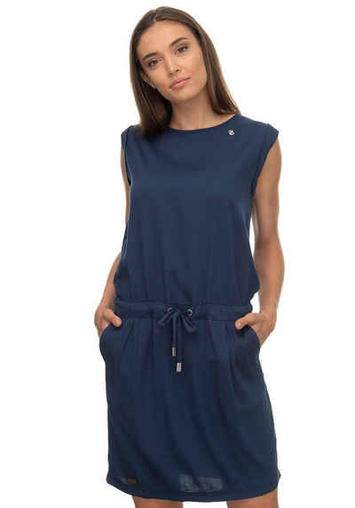 XS bis XL 167 blau gemustert Ragwear Kleid Sweatkleid Damen Gr
