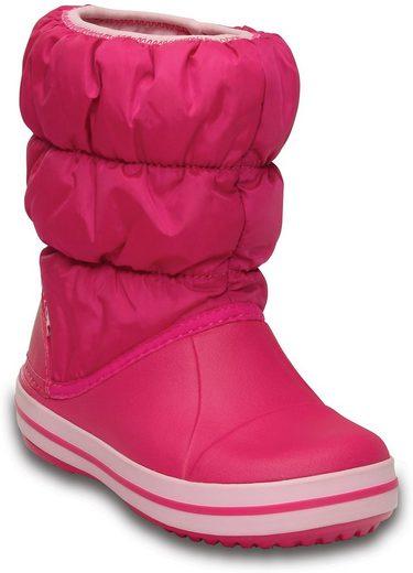 Crocs »Winter Puff Boots Kids« Stiefel zum Reinschlüpfen