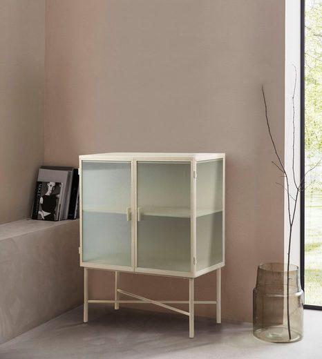 LeGer Home by Lena Gercke Kommode »Almira«, Türen mit Riffelglas, Zeitloses Design, in 2 Farben erhältlich